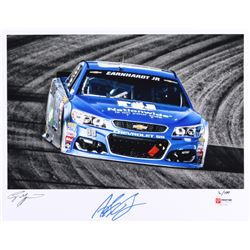 Alex Bowman Signed NASCAR #88 Limited Edition 11x14 Photo #/100 (PA COA)