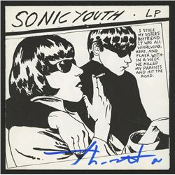 "Thurston Moore Signed Sonic Youth ""Goo"" CD Insert (JSA COA)"