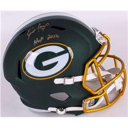 "Brett Favre Signed LE Packers Full-Size Blaze Speed Helmet Inscribed ""HOF 2016"" (Radtke COA)"