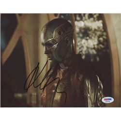 Karen Gillan Signed  Guardians of the Galaxy  8x10 Photo (PSA COA)