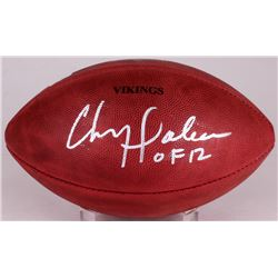"Chris Doleman Signed ""The Duke"" Official NFL Game Ball Inscribed ""HOF 12"" (Radtke COA)"