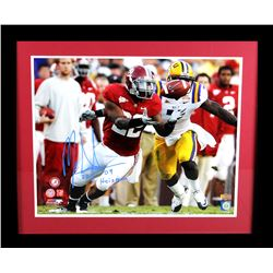 "Mark Ingram Signed Alabama Crimson Tide 23x27 Custom Framed Photo Display Inscribed ""09 Heisman"" (Ra"