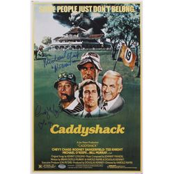 "Cindy Morgan  Michael O'Keefe Signed ""Caddyshack"" 11x17 Photo Inscribed ""Lacey""  ""Noonan"" (Schwartz"