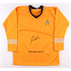 "William Shatner Signed LE ""Star Trek"" Uniform (PSA COA)"