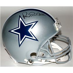 "Michael Irvin Signed Cowboys Full-Size Authentic On-Field Helmet Inscribed ""Playmaker"" (Radtke COA)"