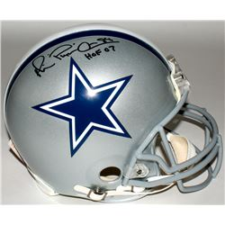 "Michael Irvin Signed Cowboys Full-Size Authentic On-Field Helmet Inscribed ""Playmaker""  ""HOF 07"" (Ra"