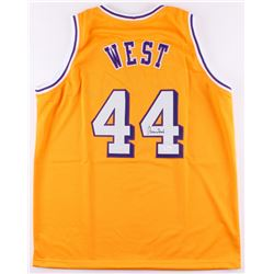 Jerry West Signed Lakers Jersey (JSA COA)