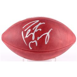Peyton Manning Signed Super Bowl XLI Logo Football (Steiner COA  Fanatics Hologram)