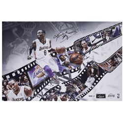 Kobe Bryant Signed Lakers 20x30 LE Photo (Panini COA)