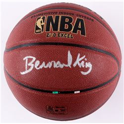 Bernard King Signed Spalding Full-Size Basketball (JSA COA)