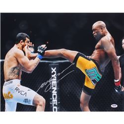 Anderson Silva Signed UFC 16x20 Photo (PSA Hologram)