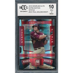 2010 Donruss Elite Extra Edition Status #191 Paul Goldschmidt (BCCG 10)