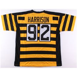 James Harrison Signed Throwback Steelers Jersey (Radtke COA)