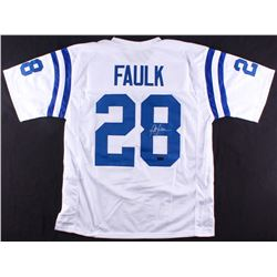 Marshall Faulk Signed Colts Jersey (Radtke COA)