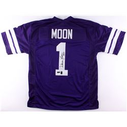 "Warren Moon Signed Washington Huskies Jersey Inscribed ""HOF 06"" (Radtke COA  Moon Hologram)"