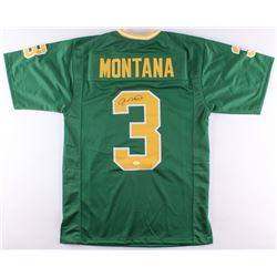 Joe Montana Signed Notre Dame Fighting Irish Jersey (JSA COA )