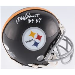 "Mel Blount Signed Steelers Mini-Helmet Inscribed ""HOF 89"" (JSA COA)"