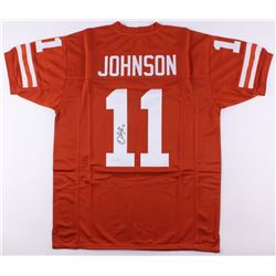 Derrick Johnson Signed Texas Longhorns Jersey (JSA COA)