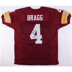 "Mike Bragg Signed Redskins Jersey Inscribed ""70 Greatest"" (JSA COA)"