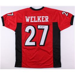 Wes Welker Signed Texas Tech Red Raiders Jersey (JSA COA)