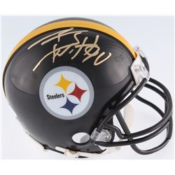 T.J. Watt Signed Steelers Mini-Helmet (JSA COA  Watt Hologram)