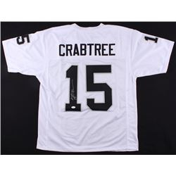 Michael Crabtree Signed Raiders Jersey (JSA COA)