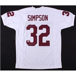 1d35cf032 O.J. Simpson Signed USC Trojans Jersey Inscribed