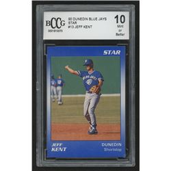 1990 Dunedin Blue Jays Star #13 Jeff Kent (BCCG 10)