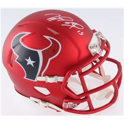 Will Fuller Signed Texans Blaze Mini Helmet (JSA COA)