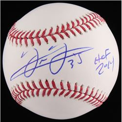 "Frank Thomas Signed OML Baseball Inscribed ""HOF 2014"" (JSA COA)"