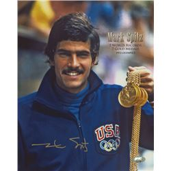 Mark Spitz Signed Team USA 8x10 Photo (FSC COA)