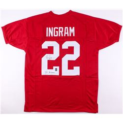 "Mark Ingram Jr. Signed Alabama Crimson Tide Jersey Inscribed ""'09 Heisman"" (JSA COA  Ingram Hologram"