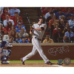 Aubrey Huff Signed Giants 8x10 Photo (MLB Hologram, FSC COA  Huff Hologram)