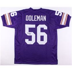 "Chris Doleman Signed Vikings Jersey Inscribed ""HOF 12"" (SGC COA)"