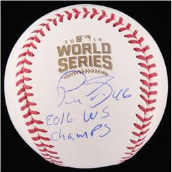 "Pedro Strop Signed 2016 World Series Baseball Inscribed ""2016 WS Champs"" (Schwartz Sports COA)"