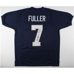 "Will Fuller Signed Notre Dame Fighting Irish Jersey Inscribed ""Play Like A Champion!"" (JSA COA)"