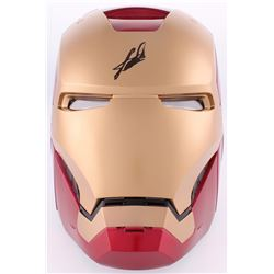 Stan Lee Signed Marvel Iron Man Helmet (Radtke COA  Lee Hologram)