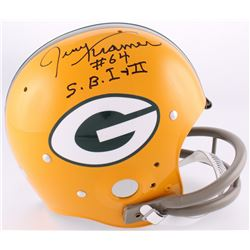 "Jerry Kramer Signed Packers Full-Size TK Suspension Helmet Inscribed ""S.B.I +II"" (Radtke Hologram)"