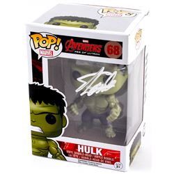 "Stan Lee Signed Avengers: Age of Ultron ""Hulk"" Funko Pop Vinyl Figure (Radtke Hologram  Lee Hologram"