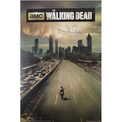 "Norman Reedus Signed ""The Walking Dead"" 24x36 Poster (Radtke Hologram)"