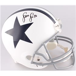 Sean Lee Signed Cowboys Full-Size Helmet (JSA COA)