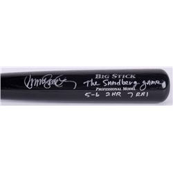 "Ryne Sandberg Signed Rawlings Adirondack Big Stick Model Bat Inscribed ""The Sandberg Game""  ""5-6, 2"