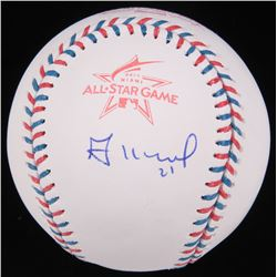 Jose Altuve Signed 2017 All-Star Game Logo Baseball (MLB Hologram)
