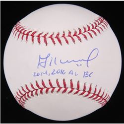 "Jose Altuve Signed OML Baseball Inscribed ""2014, 2016 AL BC"" (Radtke Hologram)"