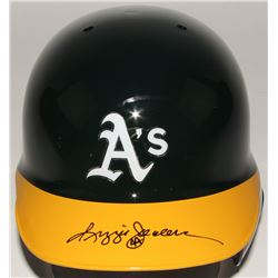 Reggie Jackson Signed Athletics Authentic Full-Size Batting Helmet (JSA Hologram)