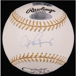 Alex Rodriguez Signed Gold Glove Award Baseball (Steiner Hologram  MLB Hologram)