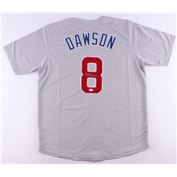 Andre Dawson Signed Cubs Jersey (JSA COA)
