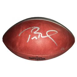 Tom Brady Signed LE Super Bowl 51 Championship Logo Football (Steiner COA  TriStar)