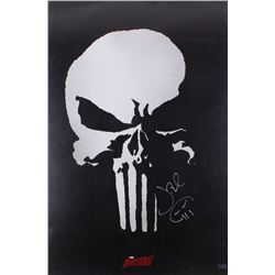 "Jon Bernthal Signed ""The Punisher"" 24x36 Movie Poster (Radtke COA)"