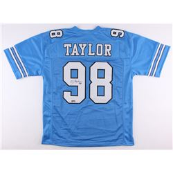 Lawrence Taylor Signed North Carolina Tar Heels Jersey (Radtke COA)